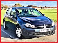 (53000 Miles) VW - 2012 Volkswagen Golf 1.2 TSi S -- HPi Clear -- 1 owner -- Full History -- 2 Keys