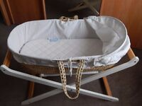 Click to view larger image and other views MAMAS-AND-PAPAS-MOSES-BASKET-and-STAND