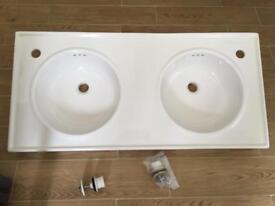 Twin Ikea wash basin
