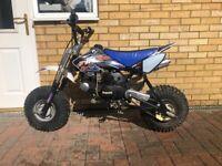 Rare guy Cooper sandblaster 125cc pit bike