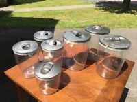 Perspex Storage jars