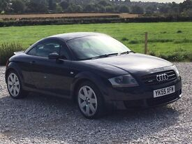 AUDI TT 3.2 QUATTRO COUPE MANUAL VERY RARE HPI CLEAR 12M MOT JUST SERVICED 9 SERVICES IN TOTAL