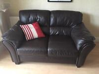 Leather sofas 3 seater& 2 seater