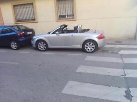 Audi tt roadster quattro cabrio (spanish)