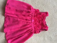 Girls Christmas/party dress £4 age 2-3