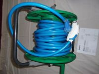 Trumma 15mtr Freshwater hose complete with Trumma fittings storage reel for caravan or motorhome