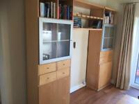 Large shelving unit, storage