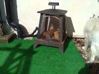 Garden Fire Pit Heater