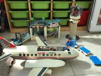 Playmobil Airport and Airline Bundle