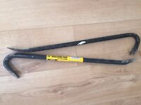 Two 24 inch Wrecking Bars - £5