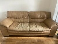 Two 3 seaters and one 2 seater slight wear fairly good condition £350 Ono
