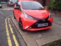 2016 TOYOTA AYGO X-PRESSION VVT-I RED, 0 Previous Owners, 5 Dr, 3400 Mileage
