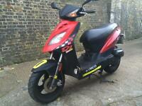 2012 Kymco DJ 50cc learner legal 50 cc scooter with MOT.