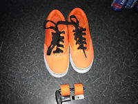 Heelys Shoe. One wheeled. Used twice in excellent condition. Size UK4