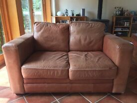 Antique Vintage Leather Sofa