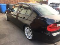 BMW 318i petrol 95,000 miles black