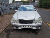 Mercedes-Benz E Class 2.7 E270 TD CDI Avantgarde 2005 SERVICE HISTORY**DIESEL...