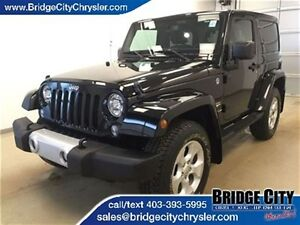 2014 Jeep Wrangler Sahara- Heated Seats, NAV, Freedom Top!