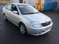 Toyota Corolla T3 Vvti. One owner and Full service history