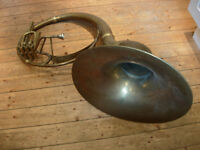 Sousaphone needs a good new home - housemove forces sale!