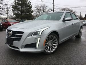 2014 Cadillac CTS 2.0L Turbo Luxury AWD LEATHER COOLED SEATS PAN