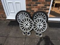Ford Focus st170 alloy wheels