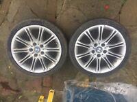 BMW Mv2 Msport wheels bmw e46 e60 3 series 5 series