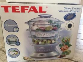 Tefal steam cuisine steam cooker