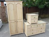 KINGSTOWN bedroom furniture set of 3 units. FREE delivery in Derby