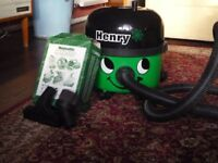 NUMATIC VACUUM CLEANER HENRY HVR 200A AS NEW USED 3-4 TIMES