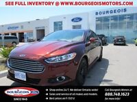 2016 Ford Fusion SE DEMO 202A WITH FREE WINTER SAFETY PKG