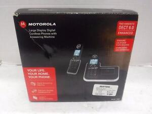 Motorola Two Handset Cordless Phone. We Buy and Sell Used Electronics and Equipment. 113501*
