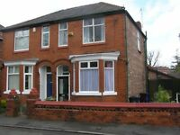 Student house for rent in Rusholme, 4 room, semi furnished from £55/week