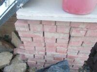144 block paving bricks (reclaimed)