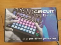 Novation Circuit, Waldorf Rocket and Korg Monotribe