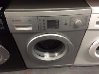 BOSCH WASHING MACHINE SILVER RECONDITIONED