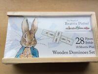 Beartrix Potter Wooden dominoes
