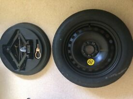 Space saver spare tyre ford mondeo
