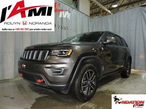2017 Jeep Grand Cherokee Trailhawk GPS TOIT PANO CUIR HITCH