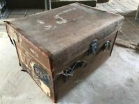 Old case trunk