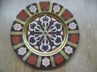 Caverwall Imari Style Large Collectable Plates