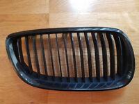 BMW E92 front kidney grilles black