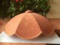 Terracotta Lampshade 9 segment design No 2 of 3 available