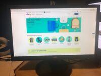 "AOC e2243Fw 21.5"" LED-backlit LCD monitor 1080p 1920 x 1080 at 60 Hz"