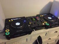 CDJ 1000 MK3 WITH DJM 400