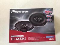 Pioneer 350w 4 way car speakers