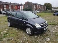 2009 (59 reg), Vauxhall Meriva 1.4 i 16v Life 5dr MPV, £1,895 p/x welcome