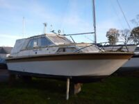 Finmar Commodore 24ft Cabin Boat with Volvo Penta For Sale