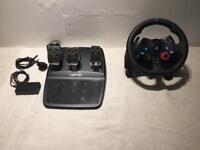 Logitech G29 PS4 racing wheel