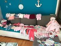 Baby girl bundle 0-3 months or 3-6 months